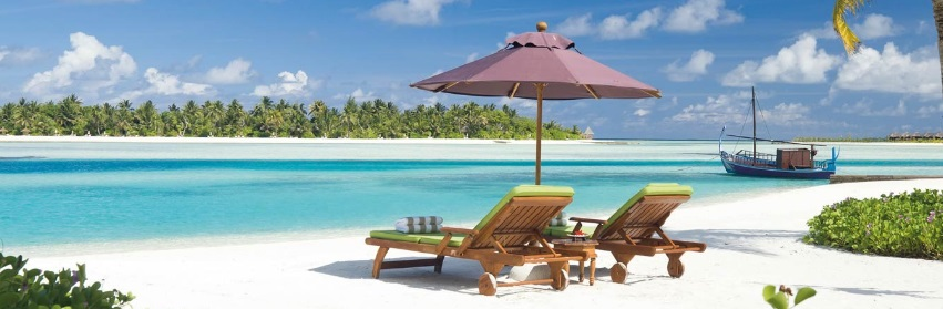 Ile de Naladhu, aux Maldives
