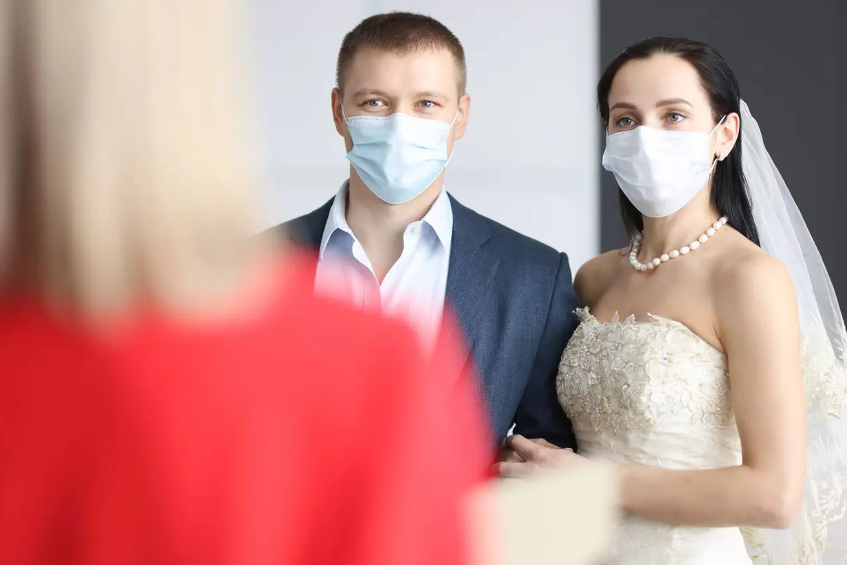 Mariés pendant covid